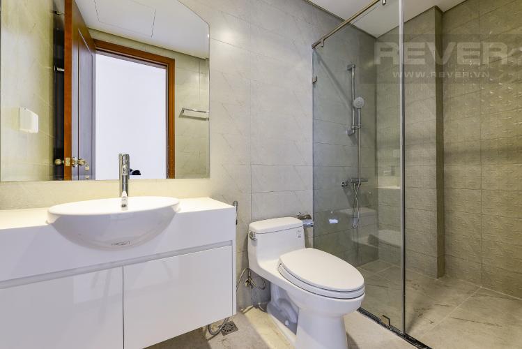 Phòng tắm 2 Căn hộ Vinhomes Central Park 2 phòng ngủ tầng cao L3 nội thất cơ bản