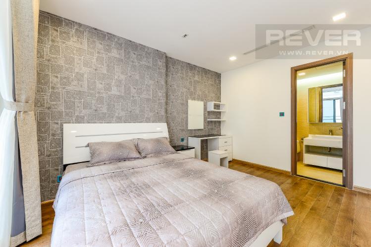 Phòng ngủ 1 Căn hộ Vinhomes Central Park tầng cao, tháp Park 3, 3 phòng ngủ, view sông