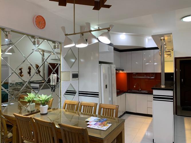 Phòng bếp Sky Garden, Quận 7 Căn hộ Sky Garden view nội khu, đầy đủ nội thất.