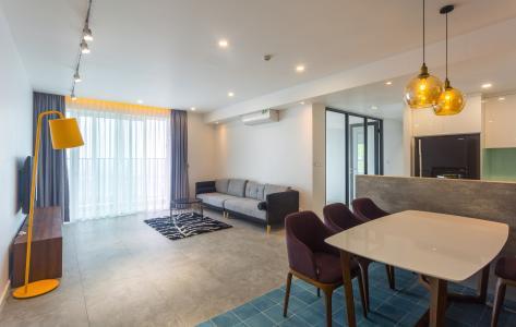 Bán và cho thuê căn hộ Vista Verde  tầng cao, 3PN, đầy đủ nội thất