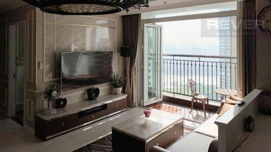 Bán căn hộ Vinhomes Central Park 3PN, tháp Landmark 4, đầy đủ nội thất, view sông thoáng mát