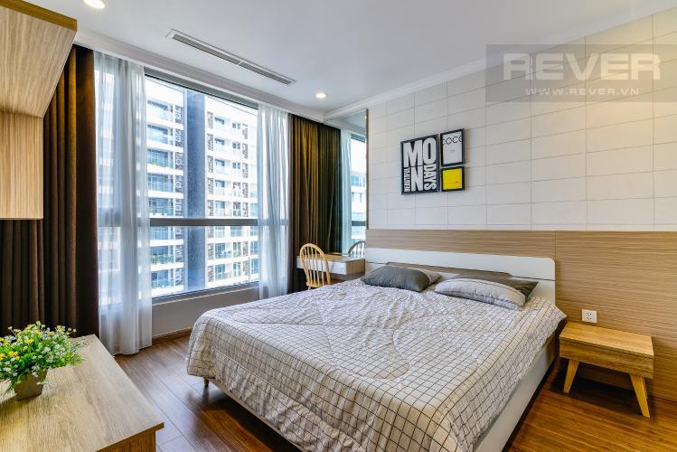 Phòng Ngủ 1 Căn hộ Vinhomes Central Park 2 phòng ngủ tầng cao L1 hướng Nam