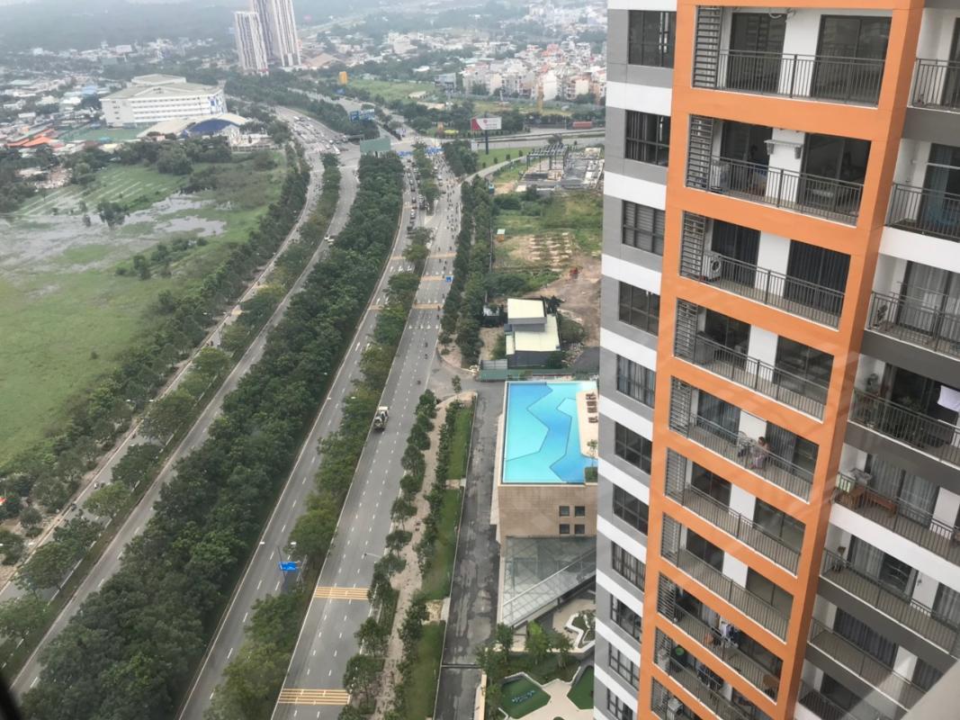 bf6941465bf3bcade5e2 Cho thuê căn hộ The Sun Avenue 3PN, tầng thấp, block 2, đầy đủ nội thất, view đại lộ Mai Chí Thọ