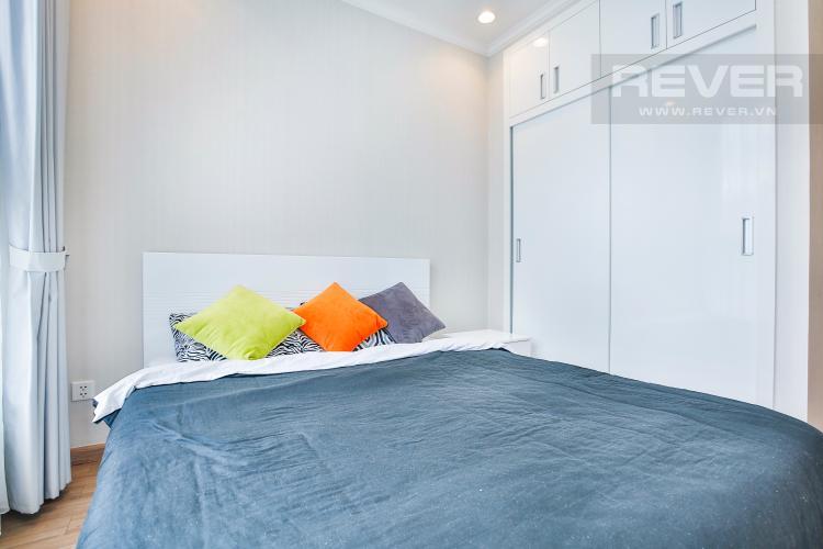 Phòng ngủ 1 Căn hộ Vinhomes Central Park tầng cao hướng Đông Bắc tháp Central 3
