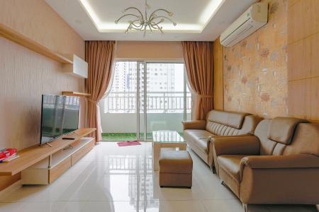 Căn hộ Sunrise City 2 phòng ngủ tầng trung W1 view hồ bơi