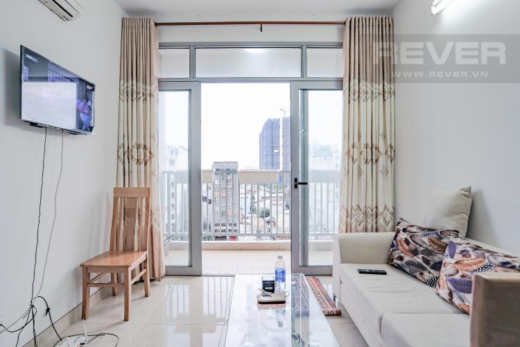 Phòng Khách Bán căn hộ Luxcity tầng trung, 2PN, đầy đủ nội thất, view đẹp