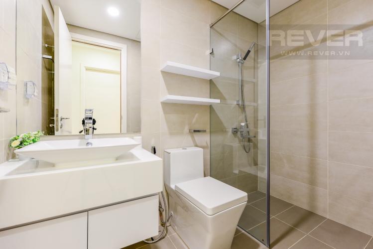 Phòng tắm 2 Cho thuê căn hộ Masteri Millennium tầng cao, view sông 2PN đầy đủ nội thất