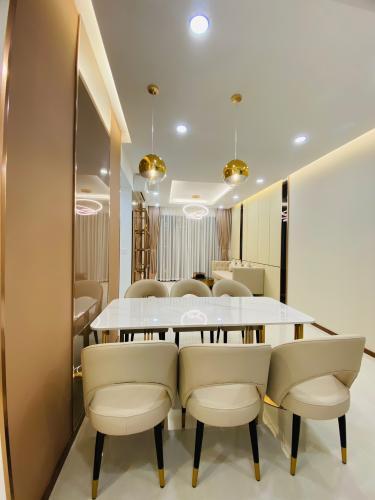 Bàn ăn căn hộ One Verandah, Quận 2 Căn hộ One Verandah đầy đủ nội thất hoàn thiện, view thoáng mát.