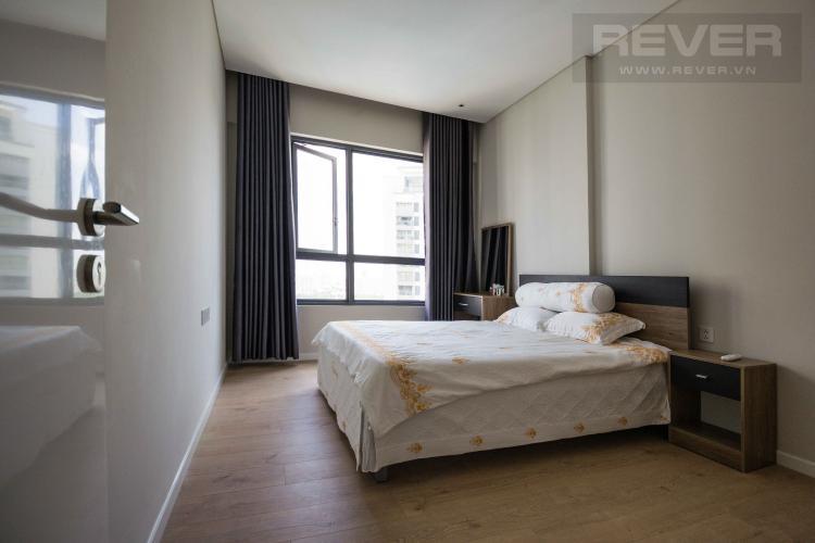 Phòng Ngủ Cho thuê căn hộ Diamond Island - Đảo Kim Cương 1PN, tầng cao, đầy đủ nội thất, view hồ bơi