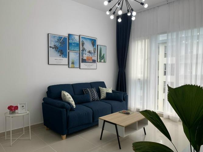 Phòng khách căn hộ Phú Mỹ Căn hộ chung cư Phú Mỹ 3 phòng ngủ, view thành phố nội thất đầy đủ.