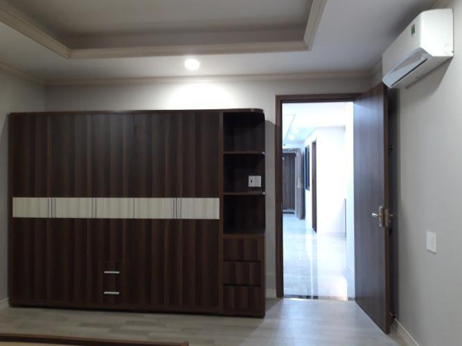 Phòng khách Căn hộ HOMYLAND 3 Căn hộ Homyland 3 tầng trung, 2 phòng ngủ nội thất cơ bản
