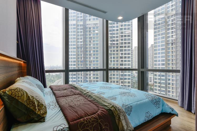 Phòng Ngủ 1 Cho thuê căn hộ Vinhomes Central Park tầng cao, 2PN với hệ thống nội thất tiện nghi, sang trọng