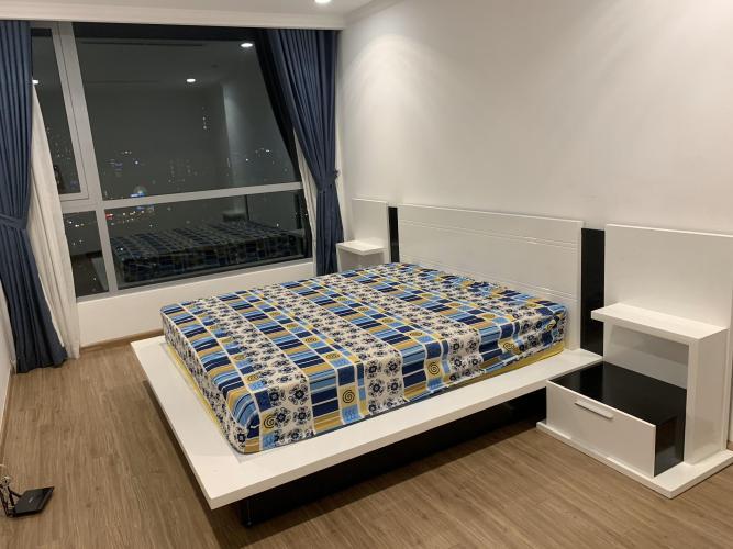 Phòng ngủ căn hộ Vinhomes Central Park Cho thuê căn hộ Vinhomes Central Park 2PN, tháp Landmark 2, đầy đủ nội thất, view thành phố