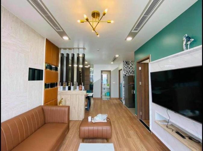 Phòng khách , Căn hộ Eco Green Saigon , Quận 7 Căn hộ Eco Green Saigon tầng 15 ban công hướng Đông Nam, nội thất đầy đủ.