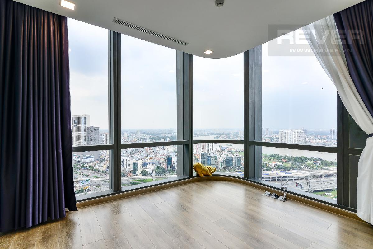 _DSC3987 Cho thuê căn hộ Vinhomes Central Park 2PN, tháp Landmark 81, nội thất cơ bản, là căn góc, view Xa lộ Hà Nội