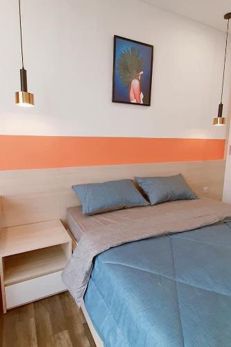 Phòng ngủ Hado Centrosa Garden, Quận 10 Căn hộ tầng cao Hado Centrosa Garden nội thất đầy đủ.