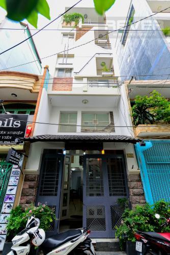 Mặt Tiền Nhà Cho thuê nhà phố hẻm Nguyễn Thiện Thuật, 2 tầng, 5 phòng ngủ, cách Ngã 6 Lý Thái Tổ 700m