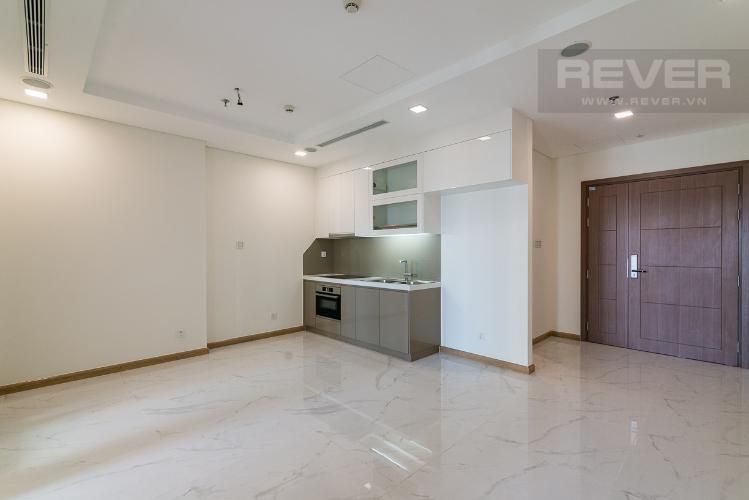 Bán căn hộ Vinhomes Central Park 1PN, không có nội thất, view nội khu