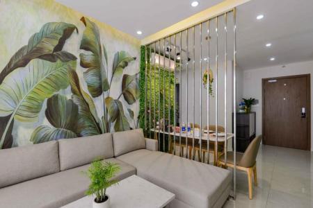 Bán căn hộ Masteri Millennium 2PN, block B, đầy đủ nội thất, view Bitexco