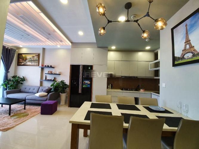 Phòng ăn Golden Mansion, Phú Nhuận Căn hộ Golden Mansion tầng 3, view thành phố thoáng mát.