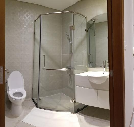 Phòng tắm Vinhomes Central Park Căn hộ tầng trung Vinhomes Central Park ban công hướng Tây Bắc.