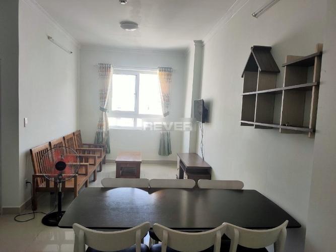 Căn hộ chung cư Topaz Home đầy đủ nội thất tiện nghi, view thoáng mát.