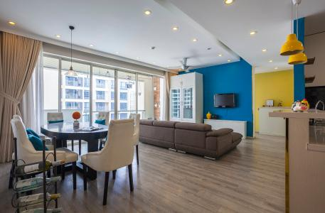 Căn hộ Estella Residence 3 phòng ngủ tầng cao 4A đầy đủ nội thất