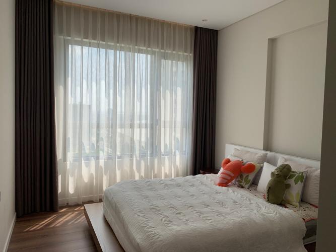 Phòng ngủ căn hộ Đảo Kim Cương Căn hộ Đảo Kim Cương tháp Hawaii, view thành phố ban công rộng rãi.