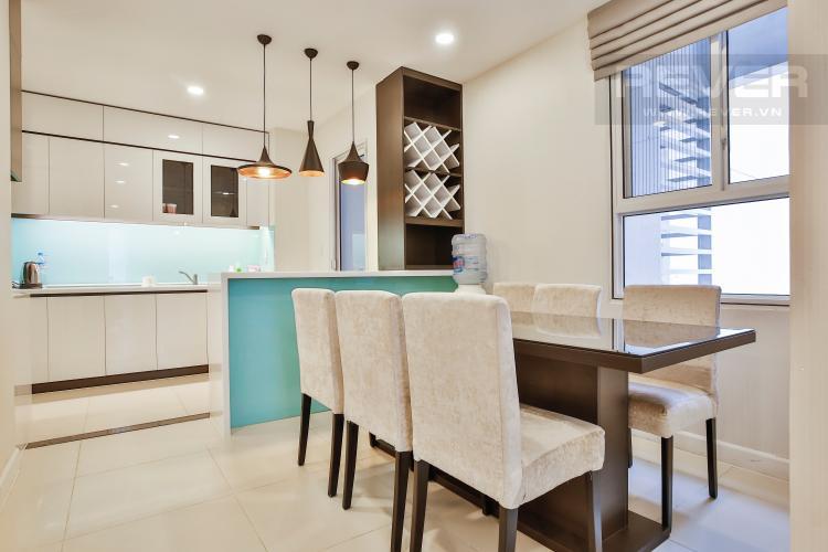 Phòng Ăn Cho thuê căn hộ Lexington Residence 3PN, tầng trung LA nội thất đầy đủ