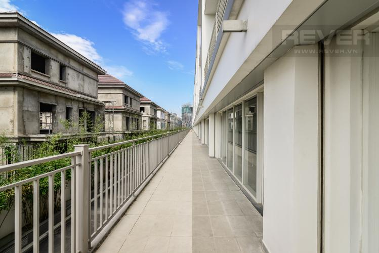 View Ban Công Mặt Sau Nhà phố thương mại đường Nguyễn Cơ Thạch khu đô thị Sala