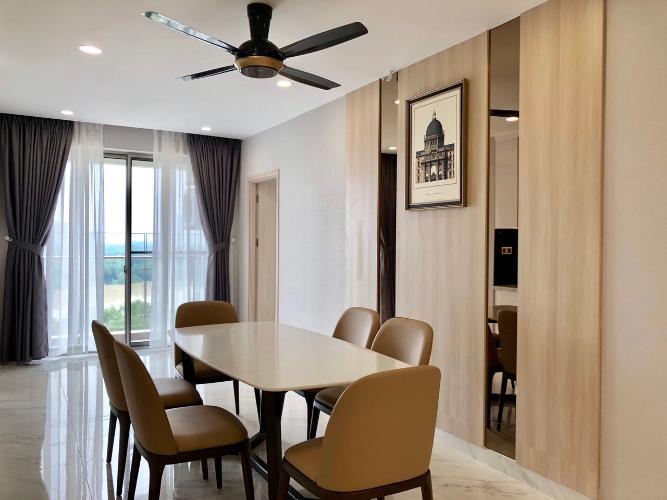 Bếp căn hộ PHÚ MỸ HƯNG MIDTOWN Cho thuê căn hộ Phú Mỹ Hưng Midtown 3PN, diện tích 135m2, đầy đủ nội thất, view sông thoáng mát