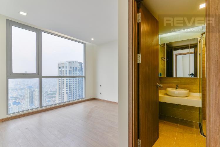 Phòng Ngủ 1 Bán căn hộ Vinhomes Central Park 2PN, tầng cao, Park 7, nội thất cơ bản