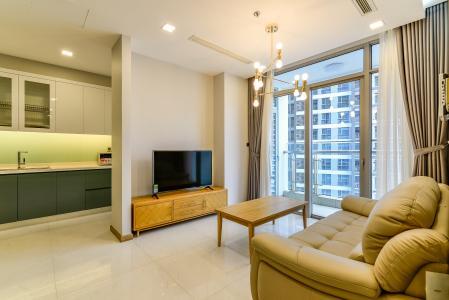 Cho thuê căn hộ Vinhomes Central Park tầng cao 3PN nội thất đầy đủ, view sông