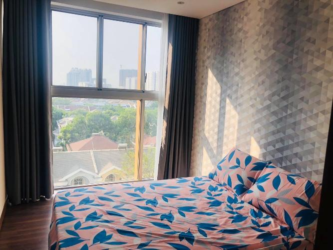 Phòng ngủ căn hộ PHÚ MỸ HƯNG MIDTOWN Cho thuê căn hộ Phú Mỹ Hưng Midtown 2PN, diện tích 98m2, đầy đủ nội thất, ban công Đông Nam