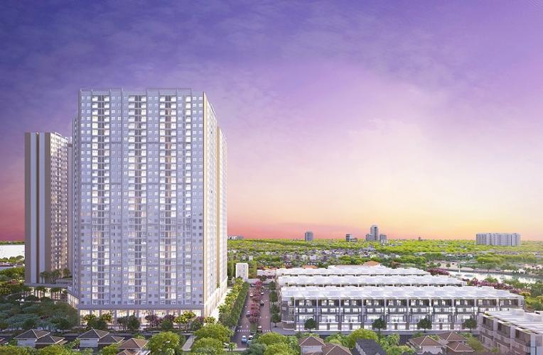 building căn hộ city gate 3 Căn hộ City Gate 3 nội thất cơ bản, view thành phố.