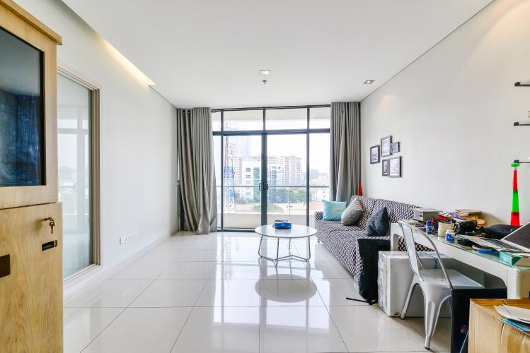 Căn hộ City Garden 1 phòng ngủ tầng thấp B2 đầy đủ tiện nghi