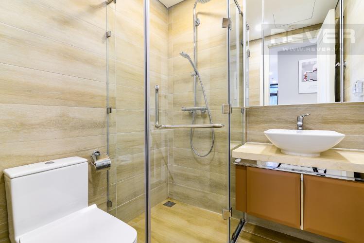 Phòng Tắm 1 Căn hộ Vinhomes Golden River tầng thấp tòa Aqua4 tầng thấp 3 phòng ngủ view sông