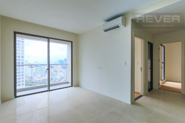Phòng Khách Bán căn hộ Masteri Millennium tầng cao, 2PN, tiện ích đa dạng