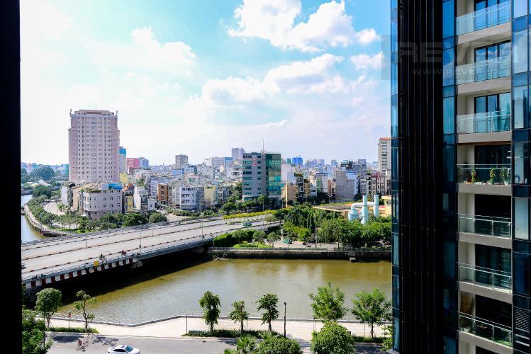 View Bán căn hộ Vinhomes Golden River 1PN, tầng thấp, tháp The Luxury 6, view sông thoáng mát