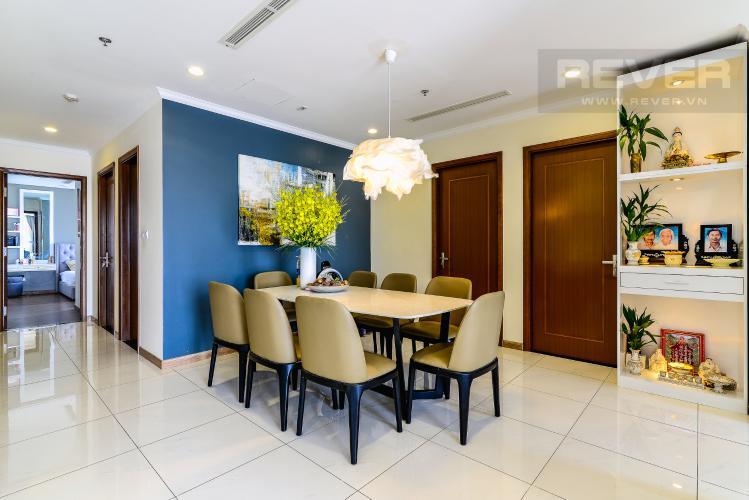 Phòng Ăn Căn hộ Vinhomes Central Park 4 phòng ngủ tầng cao L1 view sông