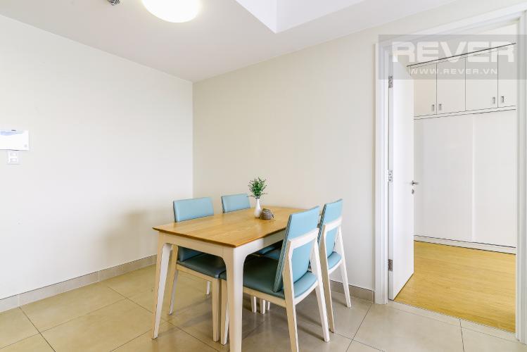 Phòng Ăn Căn hộ Masteri Thảo Điền 2 phòng ngủ tầng cao T3 hướng Tây Bắc
