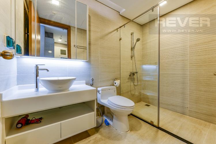 Phòng tắm bán và cho thuê căn hộ Vinhomes Central Park tầng cao, 1PN, đầy đủ nội thất