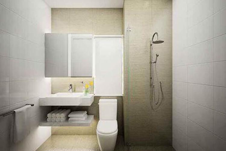 Nhà mẫu Celadon City, Tân Phú Căn hộ Celadon City hướng Đông Nam, nội thất cơ bản.