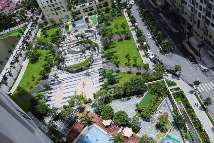 View Cho thuê căn hộ Masteri Thảo Điền tầng cao, 2PN, đầy đủ nội thất