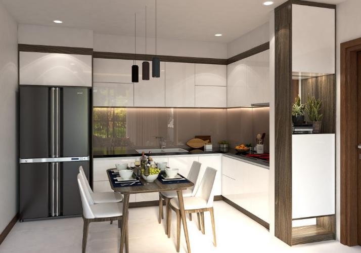 bếp căn hộ Bcons miền Đông Căn hộ Bcons Miền Đông nội thất bàn giao cơ bản, view mát mẻ