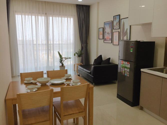 Cho thuê căn hộ Masteri Millennium thuộc tầng cao, diện tích 74m2, 2PN, đầy đủ nội thất