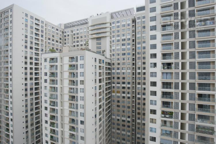 View Căn hộ The Gold View tầng cao, tháp B, 2 phòng ngủ, view sông