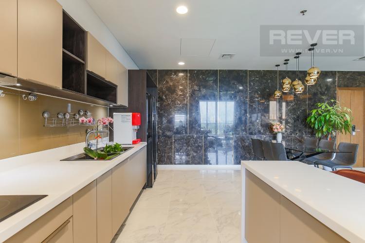 Phòng Bếp Cho thuê căn hộ Sarica Sala Đại Quang Minh 3PN, đầy đủ nội thất, view công viên mát mẻ