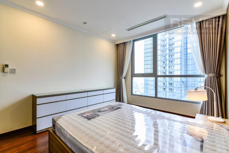 Phòng Ngủ 3 Căn hộ Vinhomes Central Park 3 phòng ngủ tầng cao L6 nội thất có sẵn