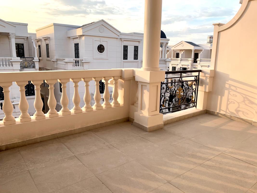 nha-pho-go-vap Bán nhà phố 4 tầng đường nội bộ Phan Văn Trị, Gò Vấp, diện tích đất 100m2, cách chợ Hạnh Thông Tây 1km